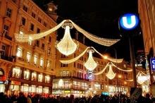 Atmosfera de Craciun la Viena  Atmosfera de Craciun la Viena